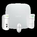 Ajax StarterKit-CAM-MP Ajax Hub 2 Alarm Kit, 1 PIRCAM, 1 PIR detector and 1 remote