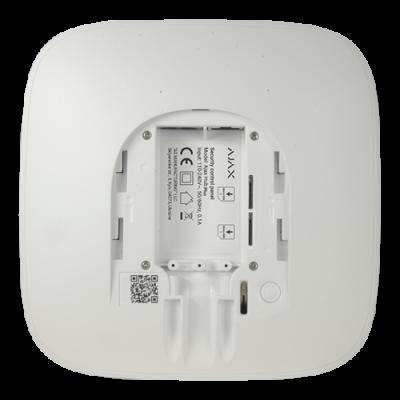Ajax Hub2-DC6V - Panel de alarma autónomo 6V DC Ethernet y dual SIM GPRS