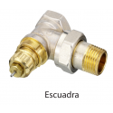 """Danfoss RA-N 013G1013 1/2 """"thermostatic valve square for twin-tube installations"""