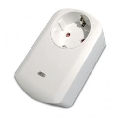 Enchufe Z-Wave Schuko con medición de consumo de Popp