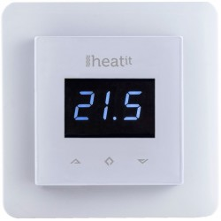 Heatit Wall Thermostat 3600W 16A Z-Wave White