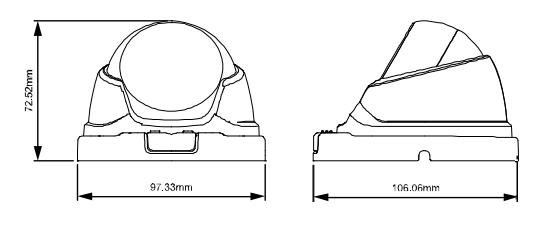 AVTECH DGM1104QS Dimensions