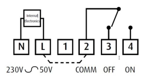 Conexionado actuador