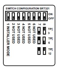 Switchs de configuración
