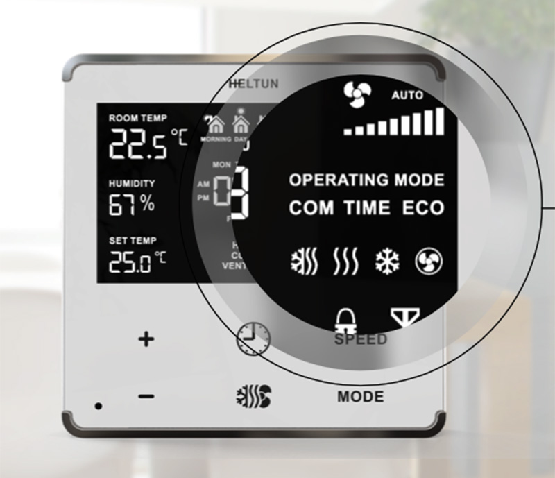 Heltun Fan Coil Zwave thermostat connection