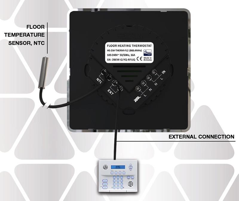 Z-Wave Heltun Thermostat