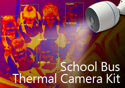 Thermal camera for fever detection