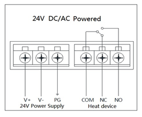 MCO Home MH3901-Z Thermostat Connection