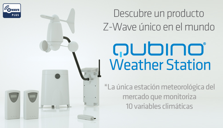 Qubino weather Statio Z-Wave weather station