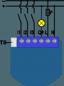 Electrical Schemes Qubino Flush 1 Relay