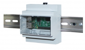 DIN rail box raspberry