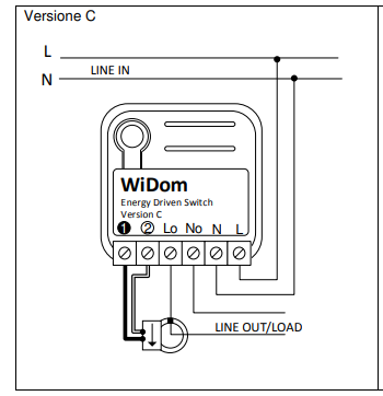 Conexão elétrica Widom