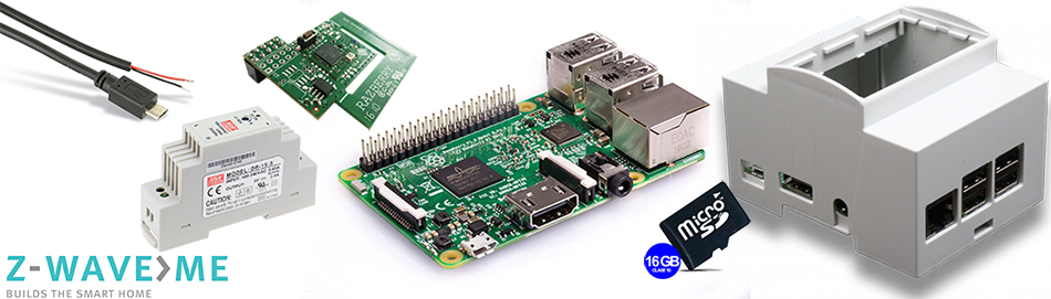 ZWave.ME Raspberry PI Kit DIN Rail