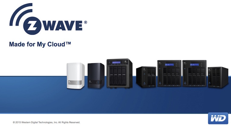 Western Digital pincho USB Z-Wave