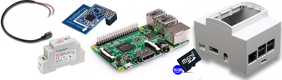 ZWave-ME home automation kit Raspberry pi Spain