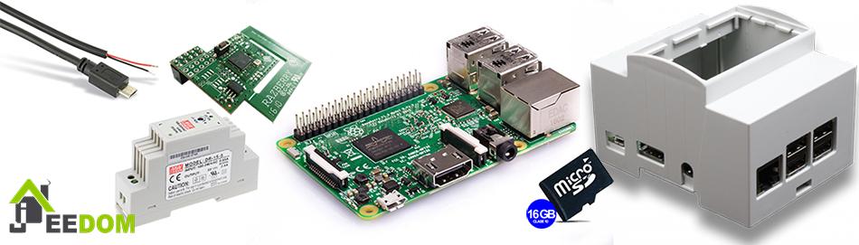 Jeedom DIY RaspberryPI Kit