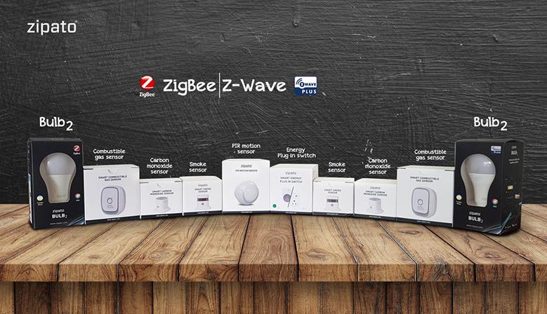 Dispositivos Z-Wave y Zigbee de Zipato
