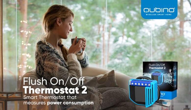 Qubino On-Off Thermostat
