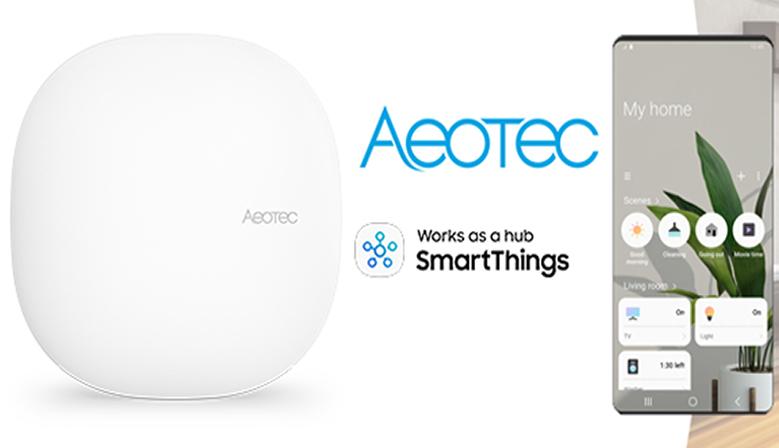 Aeotec works as a Smartthings HUB - España