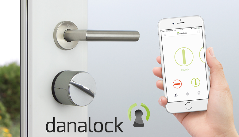 Danalock locks home automation