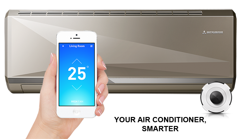 Home automation of the air conditioner