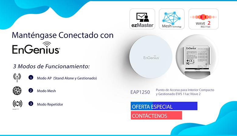 EnGenius EAP1250 Punto de Acceso de techo