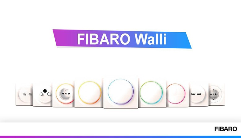 Fibaro Walli ya disponible