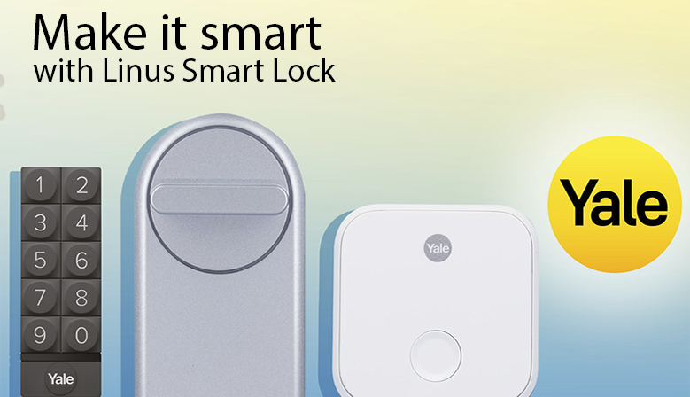Yale Linus Smart Lock (TM) intelligent locks