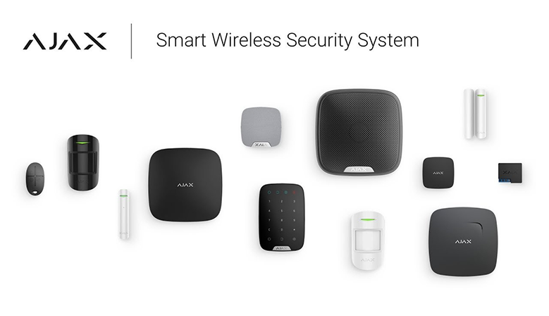 AJAX - Europe's most awarded wireless alarm system - Valid as a non-quota alarm
